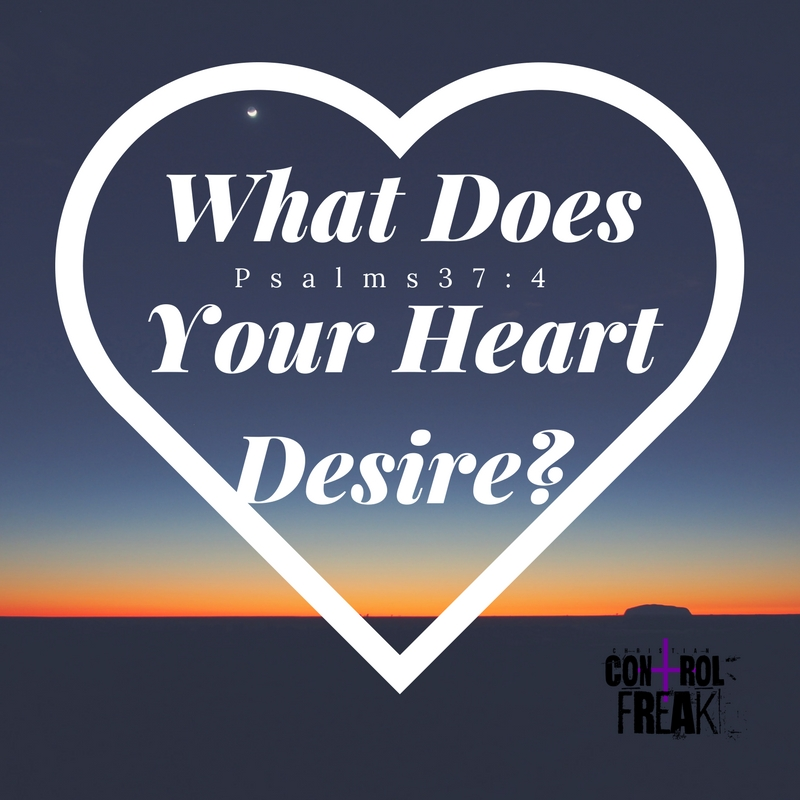 What Does Your Heart Desire-